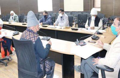 25 जनवरी को आयोजित होने वाले 11वें राष्ट्रीय मतदाता दिवस की तैयारियों को लेकर अपर जिलाधिकारी ने की बैठक