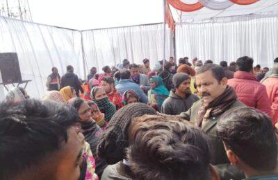किच्छा में आयोजित बहुद्देशीय शिविर के लिए समाजसेवी अजय तिवारी ने त्रिवेंद सरकार को कहा शुक्रिया