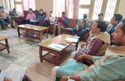 त्रिवेंद सरकार के चार वर्ष के पूर्ण होने पर 18 मार्च को किच्छा में होगा बड़ा कार्यक्रम …विधायक शुक्ला ने तय की कार्यक्रम की रूपरेखा