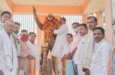 भारत रत्न डा.भीम राव अम्बेडकर ने भारतीय समाज को दिखाया समानता का रास्ता..मिटाए भेदभाव  ..वीरसेन यादव वरिष्ठ सपा नेता