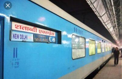 रेल मंत्रालय का बड़ा फैसला …9 मई से नहीं चलेंगी दुरंतो, राजधानी और शताब्दी ट्रेनें..ये रहा प्रमुख कारण
