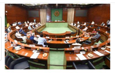 मानसून सत्र से पहले सर्वदलीय बैठक में 33 दलों के 40 से अधिक नेताओं ने भाग लिया,प्रधानमंत्री ने कहा कि विपक्ष सहित सभी प्रतिनिधियों के सुझाव हैं महत्वपूर्ण