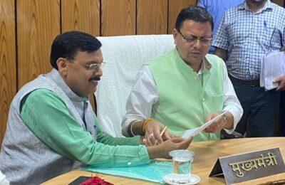 किच्छा विधायक राजेश शुक्ला के जन्मदिवस समारोह में मुख्यमंत्री दे सकते हैं किच्छा को कई बड़ी सौगातें, तैयारियों को लेकर विधायक शुक्ला ने किया कार्यक्रम स्थल का दौरा