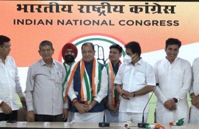 उत्तराखंड में साल 2022 में बनेगी कांग्रेस पार्टी की सरकार,यशपाल आर्य की वापसी से मिला कांग्रेस पार्टी को बड़ा बल..डा.गणेश उपाध्याय