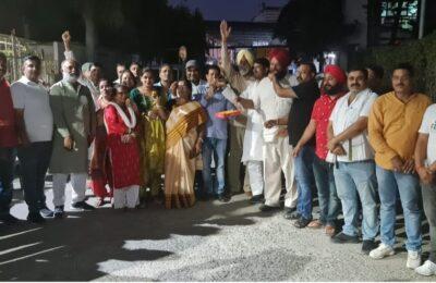 यशपाल आर्य की घर वापसी से कांग्रेसी परिवार में हुआ जश्न,हिमांशु गाबा ने कहा कि ये तो अभी शुरुआत है।